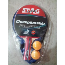 Table Tennis Bat STAG Championship