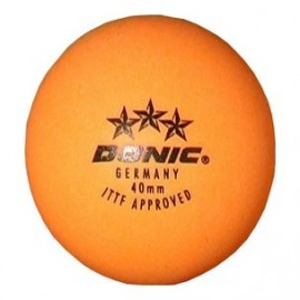 Table Tennis Ball DONIC 3 * (Orange)