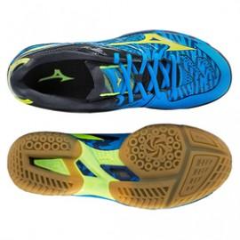 Badminton shoe wave fang