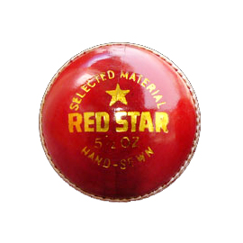 Cricket Ball DEXTER Red Star